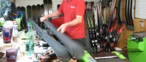 Ski Hire Chatel Servicing